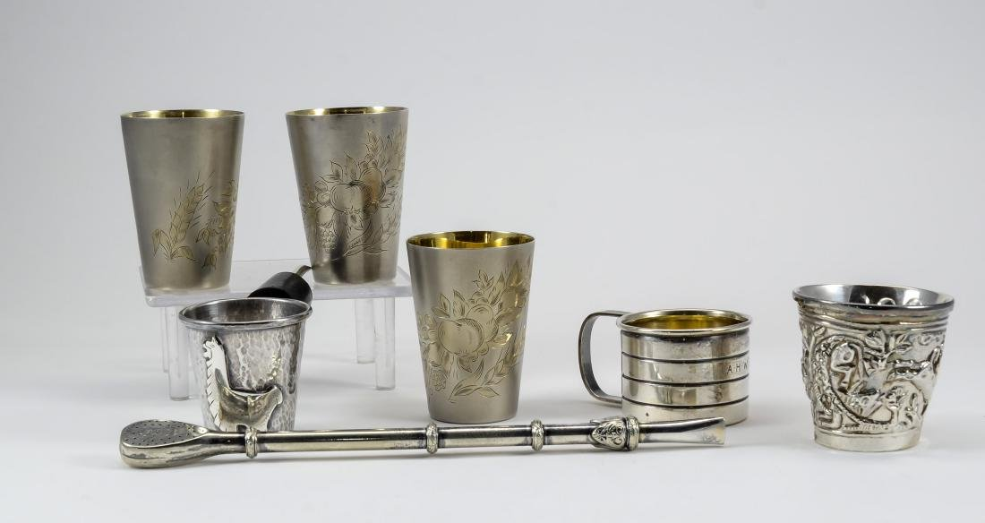 Sterling Silver Barware Group