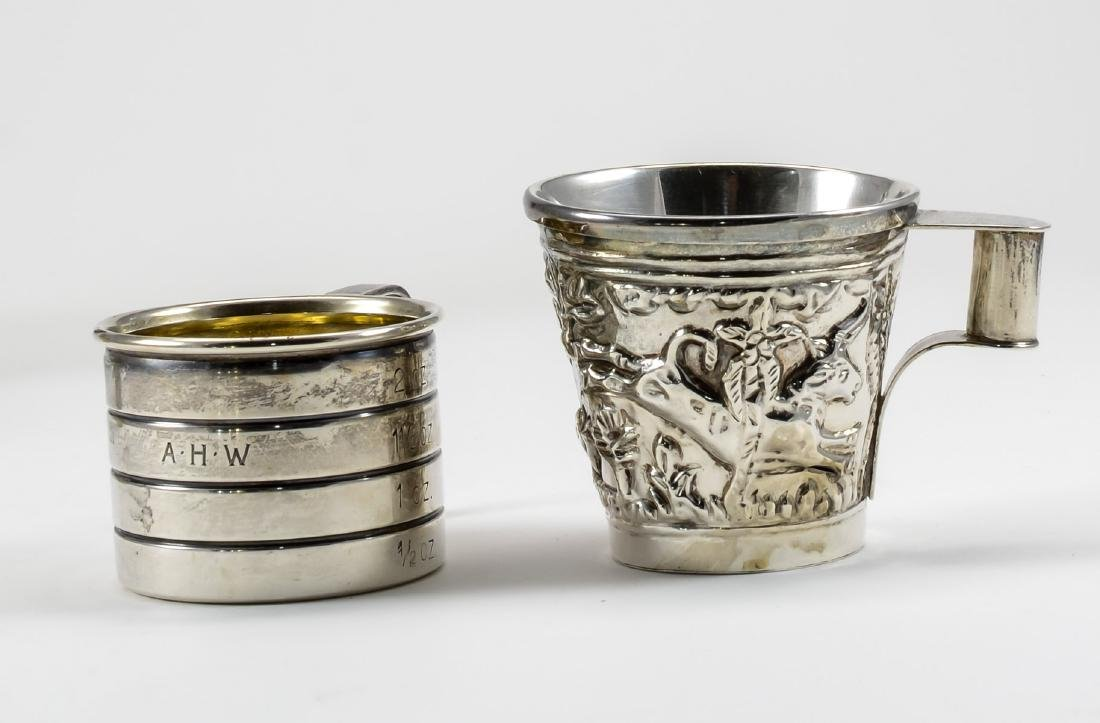 Sterling Silver Barware Group - 4