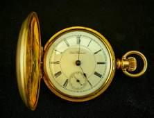 Excellent Seth Thomas Hunter Case Pocket Watch