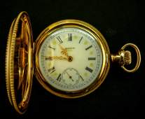 Superb Elgin Hunter Case Pocket Watch