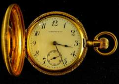 Tiffany 18K Ladies Pocket Watch