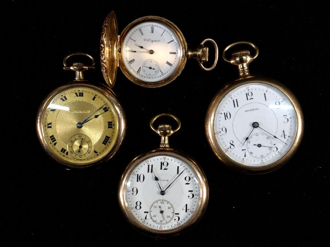 Four Estate Pocket Watches