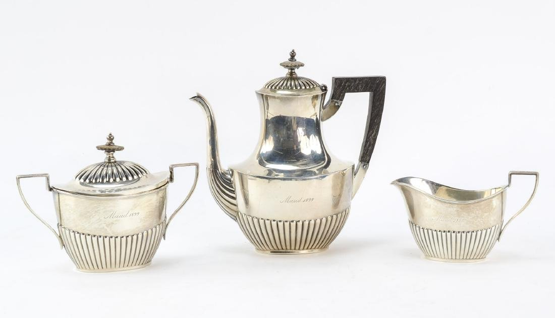 Gorham Queen Anne Sterling Silver Tea Set