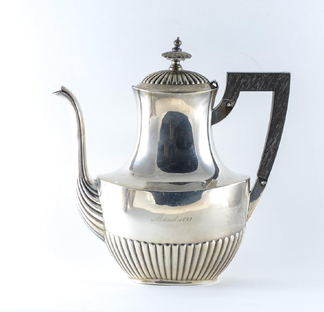 Gorham Queen Anne Sterling Silver Tea Set - 2