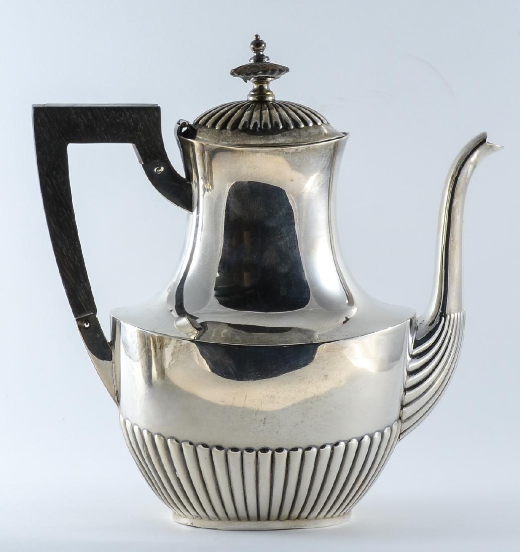 Gorham Queen Anne Sterling Silver Tea Set - 3