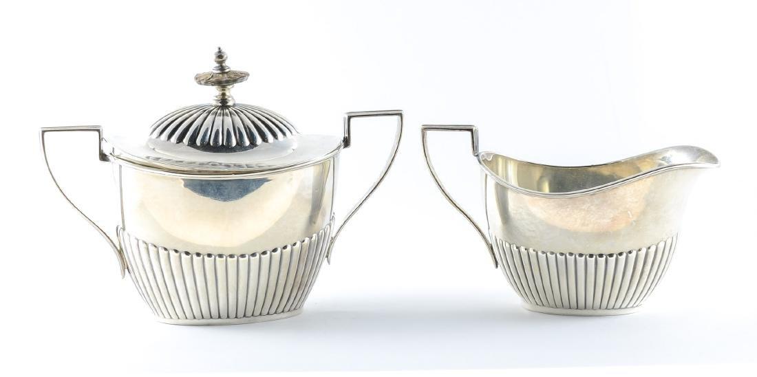 Gorham Queen Anne Sterling Silver Tea Set - 5