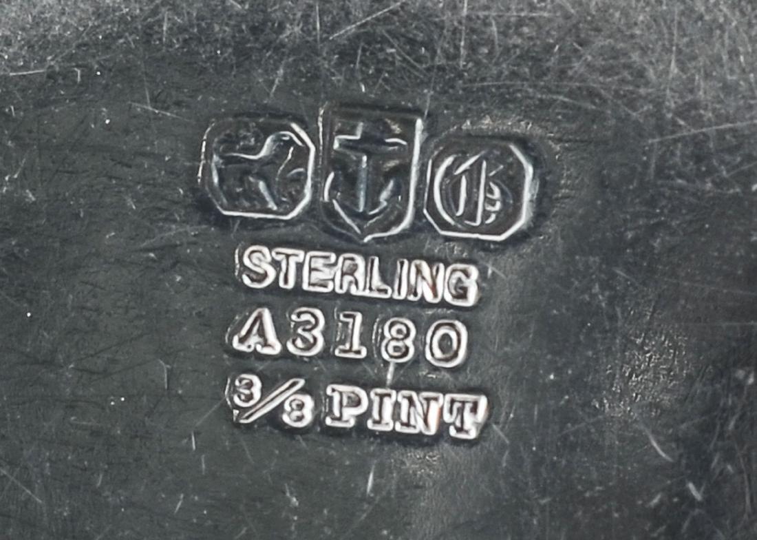 Gorham Queen Anne Sterling Silver Tea Set - 6