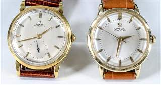 Two Mens Omega Automatic Wrist Watches