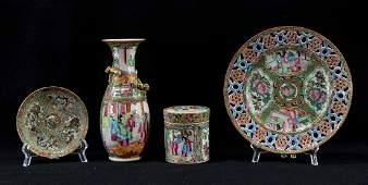 Chinese Rose Medallion Porcelain