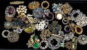 Ladies Vintage Fashion Pin Collection