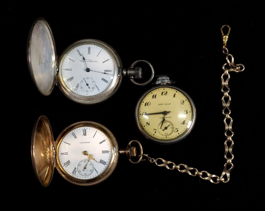 Three Estate Pocket Watches