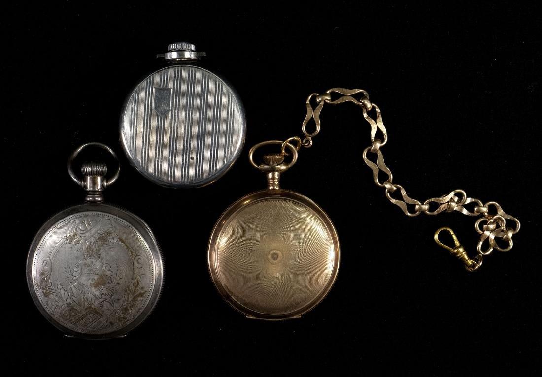 Three Estate Pocket Watches - 5