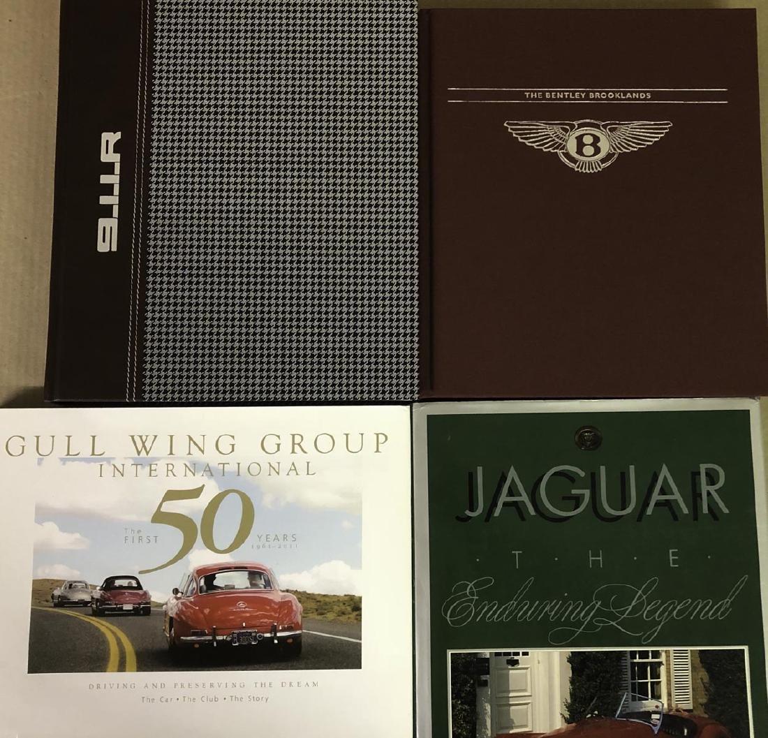 Four Euro books - Porsche 911R, three others