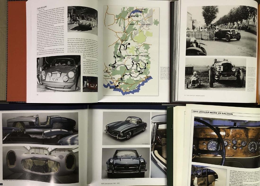 Four Euro books - Porsche 911R, three others - 2