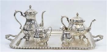 Wilcox Silverplate Tea Service