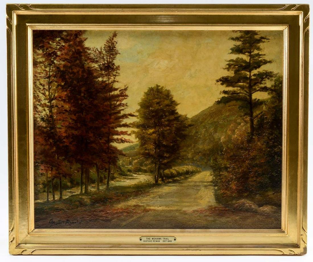 Gustave Reiman OOB Landscape: Mohawk Trail