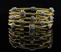 David Yurman 18K Diamond Confetti Bracelet