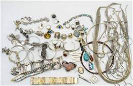 Excellent Lot of Sterling and Silver Jewelry