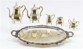 Preisner Sterling Silver Tea Service