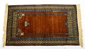 Turkish Wool prayer rug