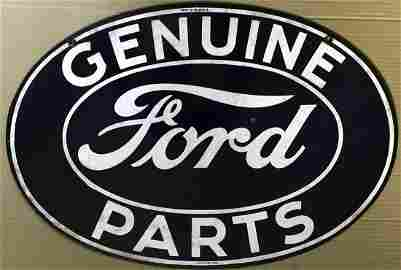 Original Ford Genuine parts double sided sign, 24