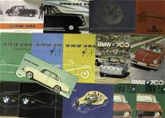 1950's-1960's BWM brochures and misc paper