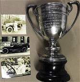 1916 Tacoma Ladies Exhibition winner trophy
