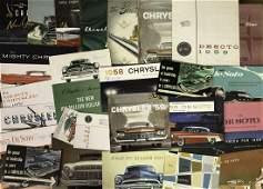 1954-1959 Mopar brochures