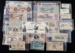Obsolete Bank Notes: Mostly Confederate States