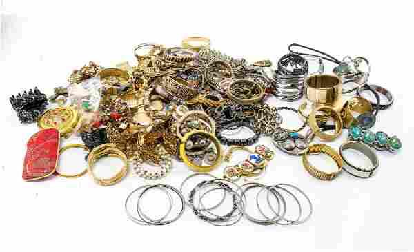 Large Mixed Fashion Jewelry Group