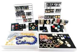 Large Collection of Kenneth Jay Lane Jewelry
