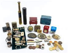 Estate Lot of Mens Collectibles