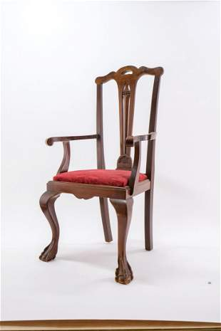 Diminutive Mahogany Chippendale Chair
