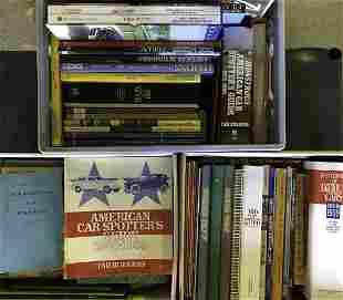 Three Boxes auto books and scrapbooks