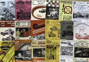 1970's-1980's auto race programs