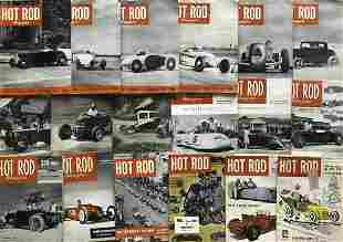 Hot Rod magazine collection - 1948-1954