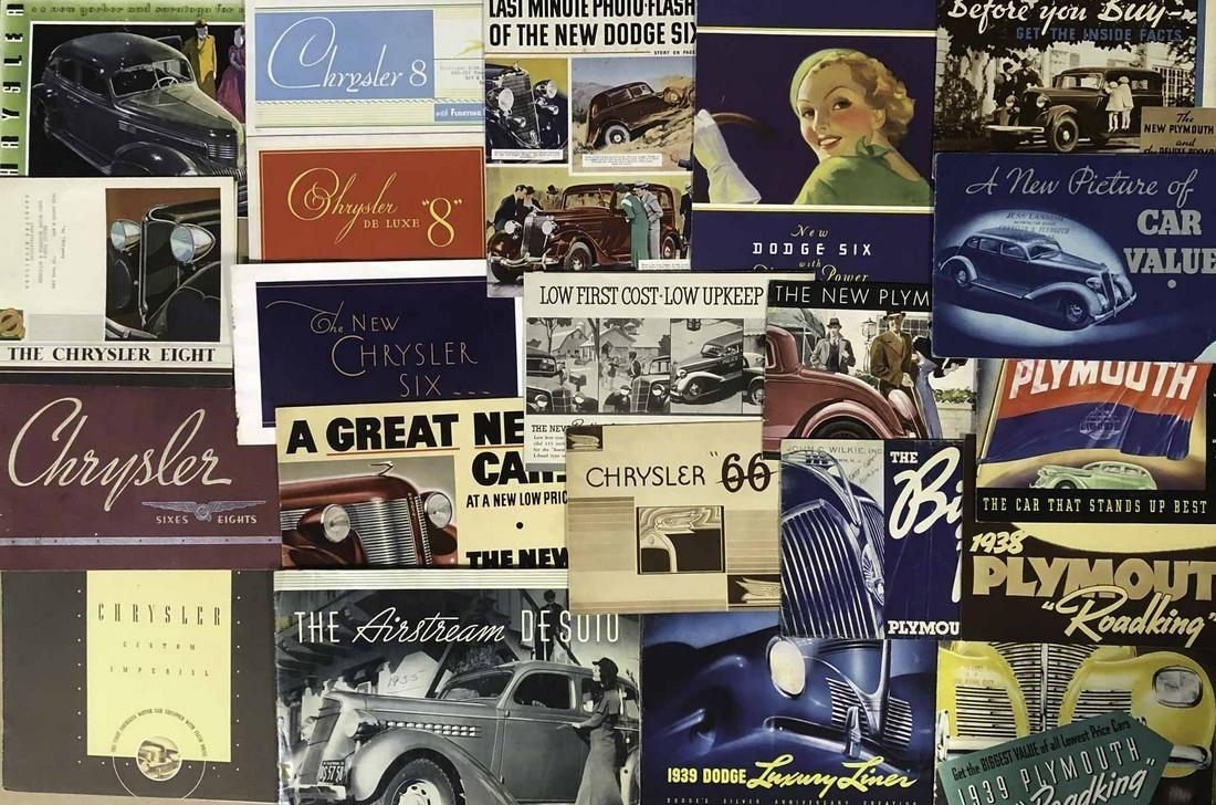 1930's-40's Chrysler, Dodge, DeSoto, Plymouth
