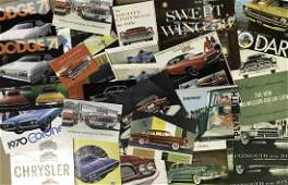 1950's-1970-'s Chrysler Products brochures