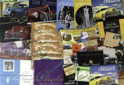 1930'-1940's Chrysler Products brochures