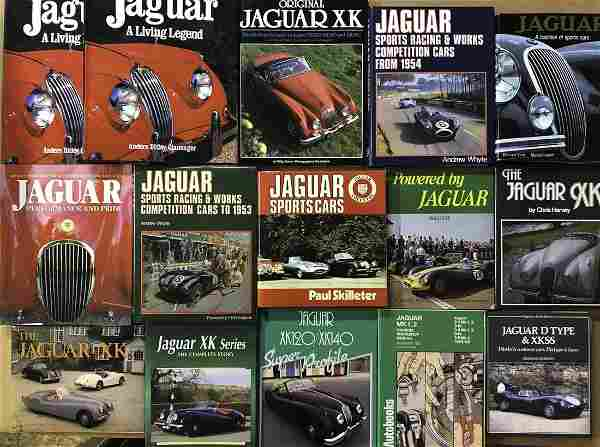 Jaguar books and magazines