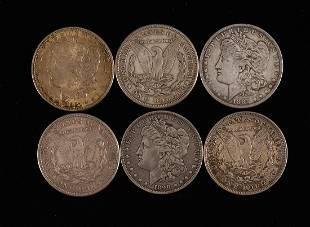 22 Morgan Silver Dollars