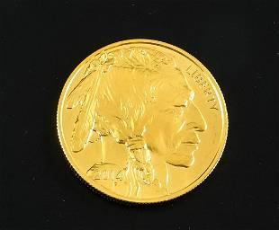 2014 $50 Gold Buffalo One Ounce Bullion Coin