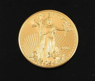 2016 US Gold $50 Eagle One Ounce Gold Coin