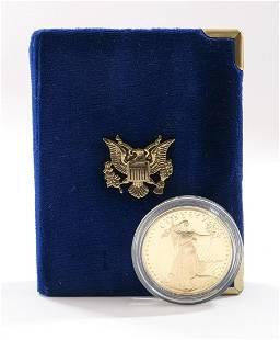 1986 $50 Gold American Eagle, 1 OZ