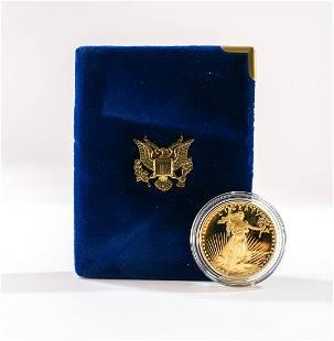 1987 $50 Gold American Eagle, 1 OZ
