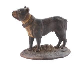 Bradley & Hubbard Bull Terrier Doorstop