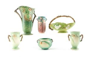 Roseville Pottery - 6 pieces