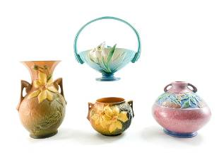 Roseville Pottery - 4 pieces