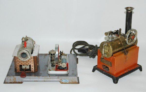 13: 2 Toy Steam Engines