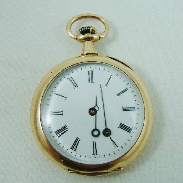 78: 14K Patek Philippe ladies pocket watch